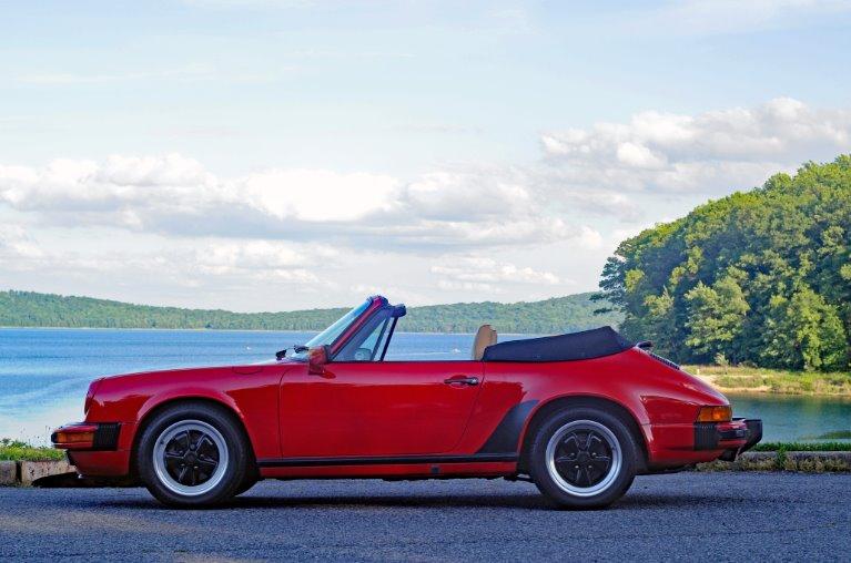 Used 1986 Porsche 911 Carrera Cabriolet