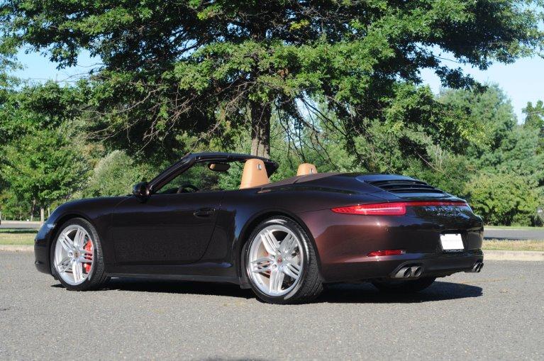 Used 2014 Porsche 911 Carrera 4S Cabriolet