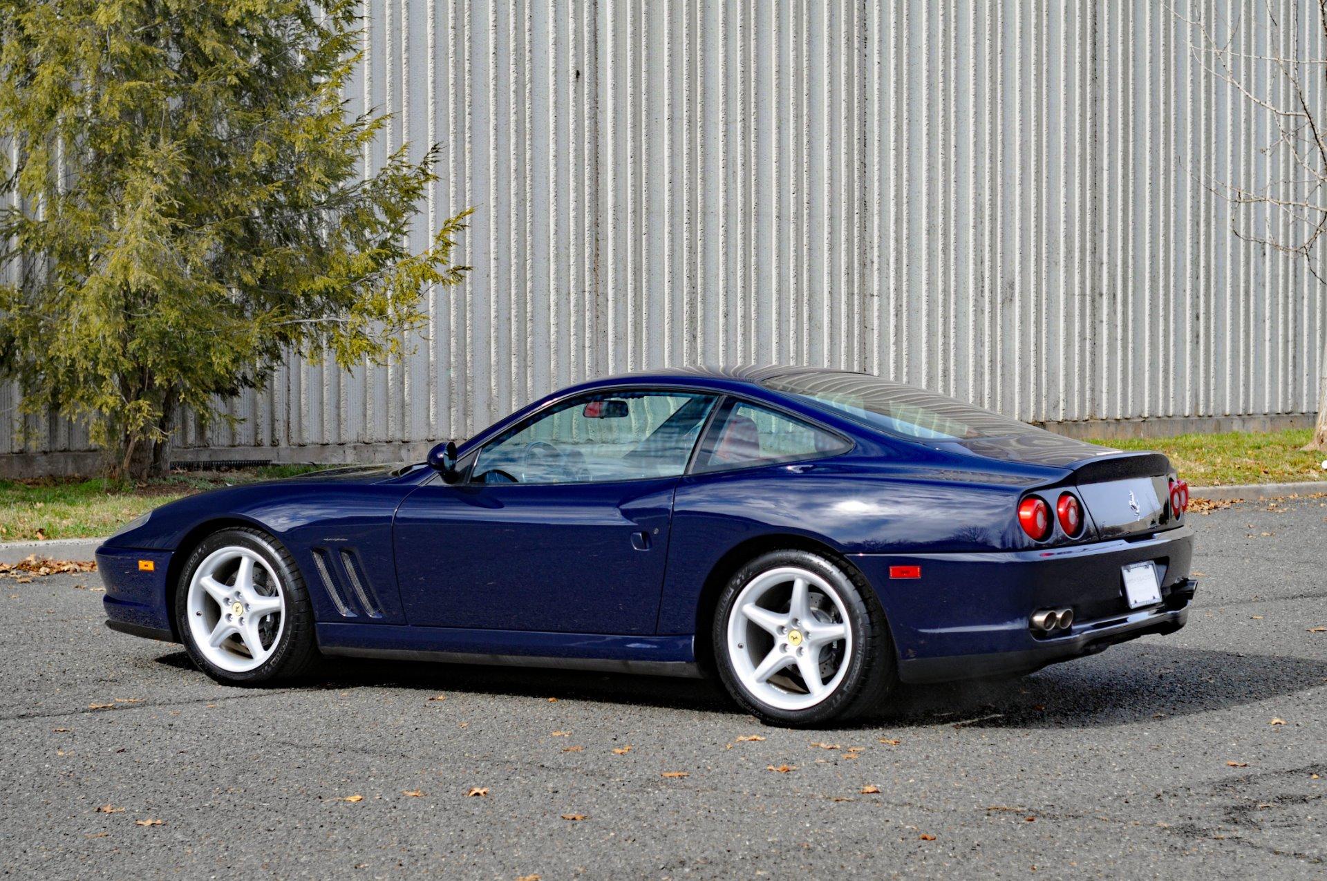 Used 1999 Ferrari 550 Maranello For Sale Special Pricing Ambassador Automobile Llc Stock 164